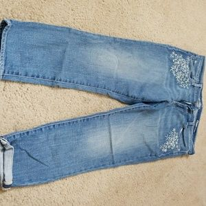 Gently used girlfriend jeans